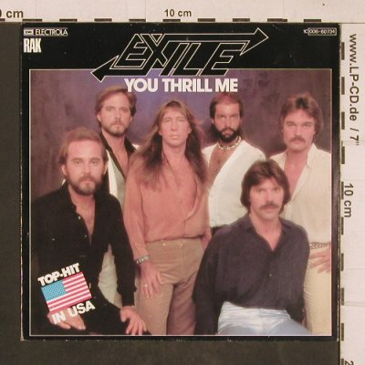 Exile: You Thrill Me / Don't Do it, RAK(006-60 734), D, 1978 - 7inch - T4539 - 2,50 Euro