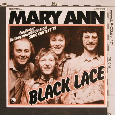 Black Lace: Mary Ann, EMI(006.07 013), D, 1979 - 7inch - T4541 - 3,00 Euro