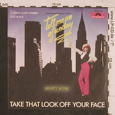 Webb,Marti: Take That Look Off Your Face, Polydor(2059 201), D, 1979 - 7inch - T4552 - 2,50 Euro