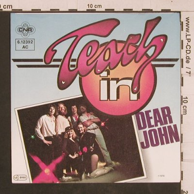 Teach in: Dear John, CNR(6.12392 AC), D, 1978 - 7inch - T4554 - 3,00 Euro