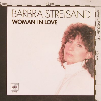 Streisand,Barbra: Woman in Love / Run Wild, CBS(8966), NL, 1980 - 7inch - T4595 - 3,00 Euro