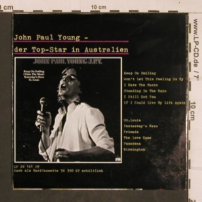 Young,John Paul: Standing In The Rain/Keep onSmiling, Ariola(17 677 AT), D,  - 7inch - T4632 - 2,50 Euro