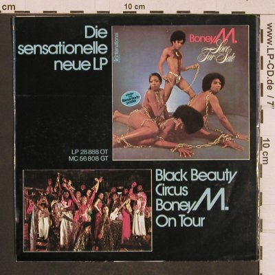 Boney M.: Ma Baker, Hansa(17 888 AT), D, 1977 - 7inch - T4643 - 2,50 Euro