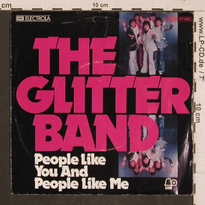 Glitter Band, The: People Like You... / Makes YouBlind, Bell(C 006-97 480), D, m-/vg+, 1976 - 7inch - T4644 - 2,00 Euro
