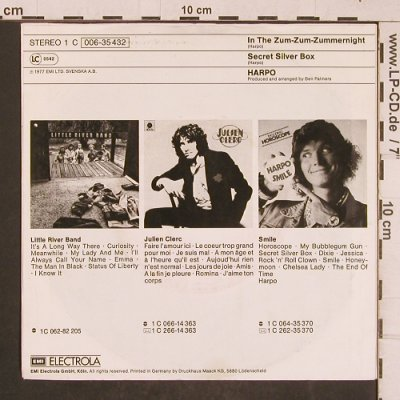 Harpo: In The Zumzumzummernight, EMI(006-35 432), D, 1977 - 7inch - T4645 - 2,50 Euro