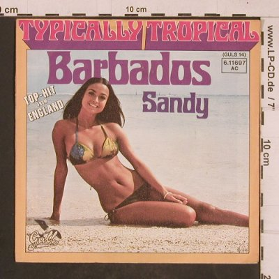 Typically Tropical: Barbados / Sandy, Gull(6.11697 AC), D, 1975 - 7inch - T4666 - 2,50 Euro