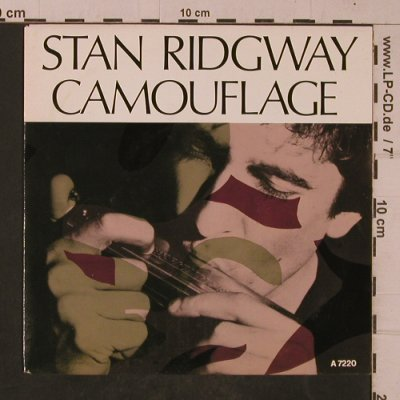Ridgway,Stan: Camouflage / Salesman, I.R.S.(A 7220), NL, 1986 - 7inch - T4689 - 2,50 Euro
