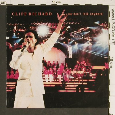 Richard,Cliff: We don't Talk Anymore, EMI(20 4090 7), D, 1990 - 7inch - T469 - 2,50 Euro