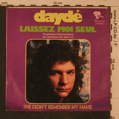 Dayde: She didn't remember my name, Rivera(MR 28 088), D, 1973 - 7inch - T4704 - 2,50 Euro