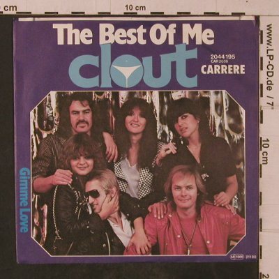 Clout: The Best of me, Carrere(2044 195), D, 1980 - 7inch - T4725 - 2,50 Euro