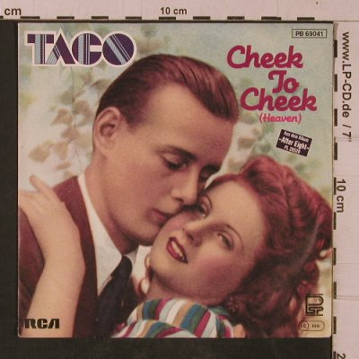 Taco: Cheek to Cheek, RCA(PB 69041), D, 1982 - 7inch - T4747 - 2,50 Euro