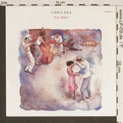 Rea,Chris: Let's Dance / I don't care Anymore, Magnet(885 888-7), D, 1987 - 7inch - T474 - 2,50 Euro