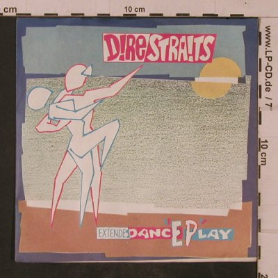 Dire Straits: Twisting By The Pool/2 Young Lovers, Vertigo(6205 062), D, 1982 - EP - T4753 - 3,00 Euro