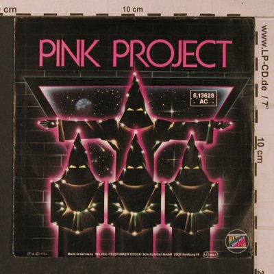 Pink Project: Disco Project / Instrum.Project, Teldec(613628 AC), D, 1982 - 7inch - T4756 - 2,50 Euro