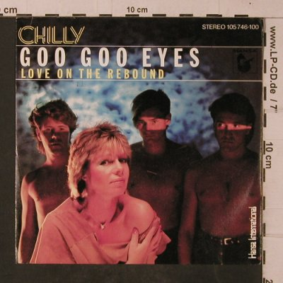 Chilly: Goo Goo Eyes, Hansa(105 746-100), D, 1983 - 7inch - T4757 - 2,50 Euro