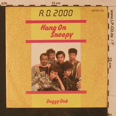 A.D.2000: Hang On Snoopy / Doggy Dub, Hansa(106 010-100), D, 1983 - 7inch - T4769 - 2,50 Euro