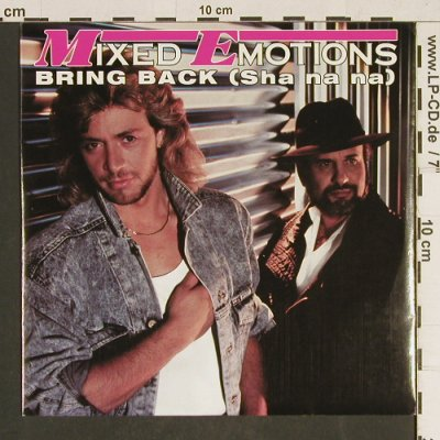 Mixed Emotions: Bring Back / Inst., Electrola(14 7243 7), D, 1987 - 7inch - T484 - 2,00 Euro