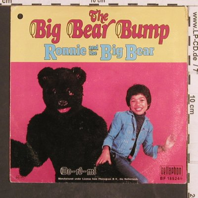 Ronnie and the Big Bear: The Big Bear Bump, Bellaphon(BF 18524), D, co, 1977 - 7inch - T4878 - 2,50 Euro