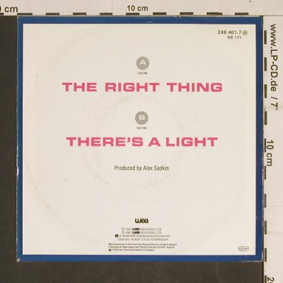 Simply Red: The Right Thing, WEA(248461-7), D, 1987 - 7inch - T487 - 2,00 Euro