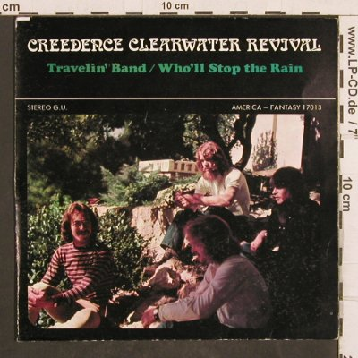 CCR: Travelin' Band/Who'll Stop The Rain, America(17013), F,m-/vg+,  - 7inch - T4957 - 4,00 Euro