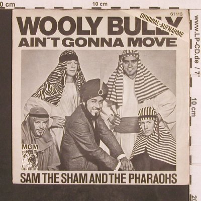 Sam The Sham & The Pharaoes: Wooly Bully, MGM(61 113), D, 1965 - 7inch - T4965 - 4,00 Euro