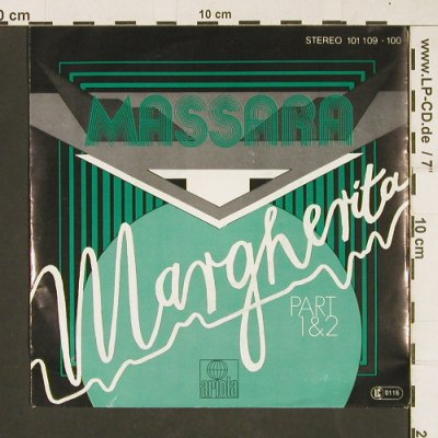 Massara: Margherita, Part 1&2, Ariola(101 109-100), D, 1979 - 7inch - T49 - 3,00 Euro