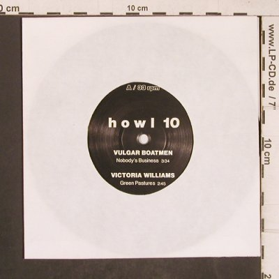 V.A.Vulgar Boatmen/Vict.Williams: Honeymoon Killers/AD/AC Motörwelt, Howl Fanzine/NoCover(howl 10), D,33rpm, 1991 - EP - T5116 - 3,00 Euro