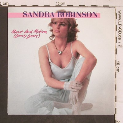 Robinson,Sandra: Music and Motion, Toledo(INT 112.554), D, 1985 - 7inch - T5133 - 3,00 Euro