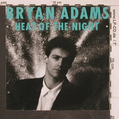 Adams,Bryan: Heat of the Night, AM(390 180-7), D, 1987 - 7inch - T5158 - 2,50 Euro