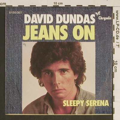 Dundas,David: Jeans On / Sleepy Serena, Chrysalis(6155 067), D, 1976 - 7inch - T515 - 3,00 Euro