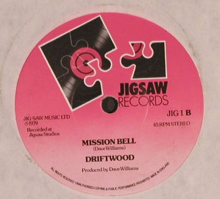 Driftwood: Rainbow Waters, m-/LC, Jigsaw(JIG 1), UK, 1979 - 7inch - T5166 - 3,00 Euro