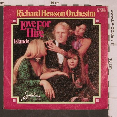 Hewson Orchestra,Richard: Love For Hire, Splash(06 192738), D, 1976 - 7inch - T5180 - 3,00 Euro