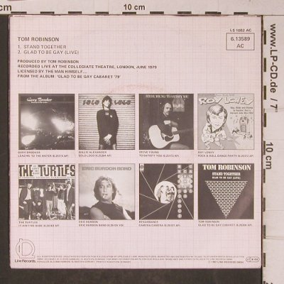 Robinson,Tom: Stand Together, Line(), D, 1982 - 7inch - T5189 - 2,50 Euro
