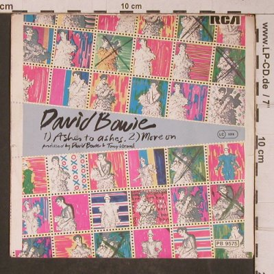 Bowie,David: Ashes To Ashes / Move On, RCA Victor(PB 9575), D, 1979 - 7inch - T5194 - 5,00 Euro