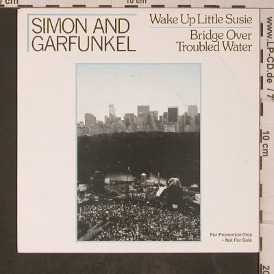 Simon & Garfunkel: Wake Up Little Susie/Bridge overTW, Geffen,Promo(PRO 159), NL, 1982 - 7inch - T5224 - 10,00 Euro