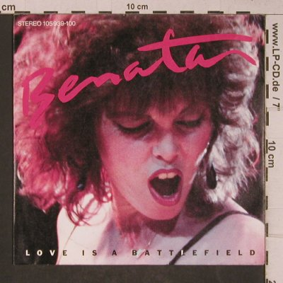 Benatar,Pat: Love Is A Battlefield/Hell Is For C, Chrysalis(105 939-100), D, 1983 - 7inch - T5229 - 3,00 Euro