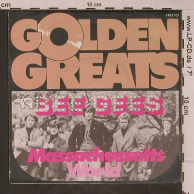 Bee Gees: Massachusetts / World, Ri, RSO(2135 101), D, 1967 - 7inch - T5230 - 3,00 Euro