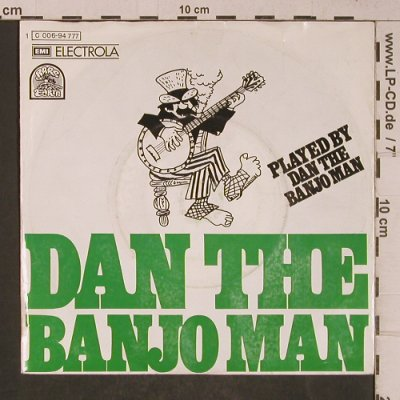 Dan the Banjo Man: played by Dan the .., m-/vg+, Rare Earth(C 006-94 777), D, 1973 - 7inch - T5235 - 2,00 Euro