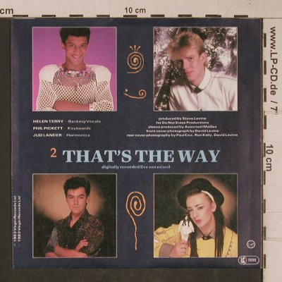 Culture Club: Kharma Chameleon/That's The Way, Virgin(105 750-100), D, 1983 - 7inch - T5236 - 3,00 Euro