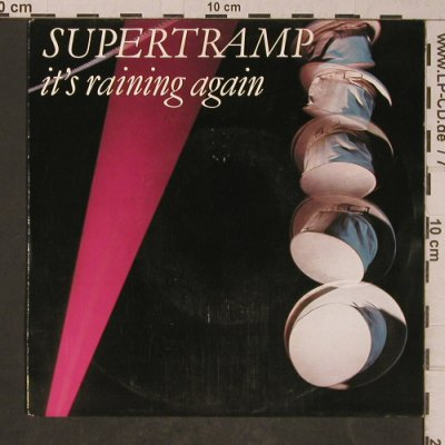 Supertramp: It's Raining Again / Bonnie, AM(AMS 9230), NL, 1982 - 7inch - T5245 - 3,00 Euro