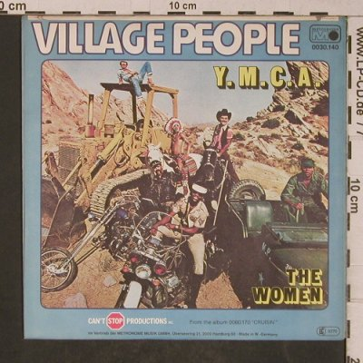 Village People: Y.M.C.A./The Women, Metronome(0030.140), D, 1978 - 7inch - T5246 - 2,00 Euro