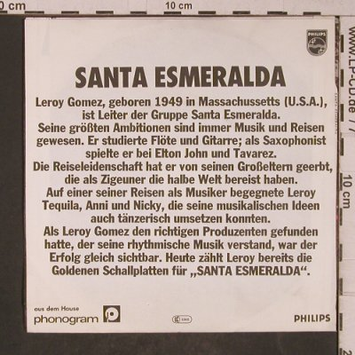 Santa Esmeralda: Don't Let Me Be Misunderstood, Philips(6042 325), D, 1977 - 7inch - T5249 - 3,00 Euro