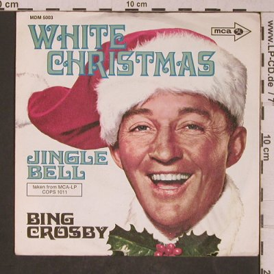 Crosby,Bing: White Christmas / Jingle Bell, MCA(MDM 5003), D,  - 7inch - T5282 - 2,50 Euro
