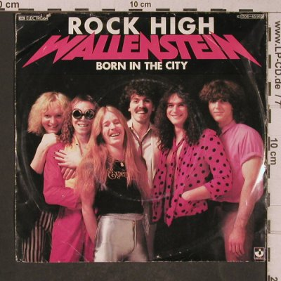 Wallenstein: Rock High / Born in the City, EMI, co(006-45 965), D,m-/vg+, 1980 - 7inch - T5288 - 2,50 Euro