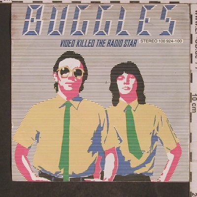 Buggles,The: Video Killed The Radio Star, Island(100 924-100), D, 1979 - 7inch - T5297 - 2,50 Euro