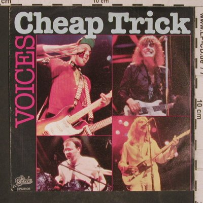 Cheap Trick: Voices / Hot Love, Epic(EPC 8106), D, 1977 - 7inch - T5303 - 3,00 Euro