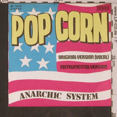 Anarchic System: POP CORN, Bellaphon(BF 18114), D, 1977 - 7inch - T5306 - 3,00 Euro