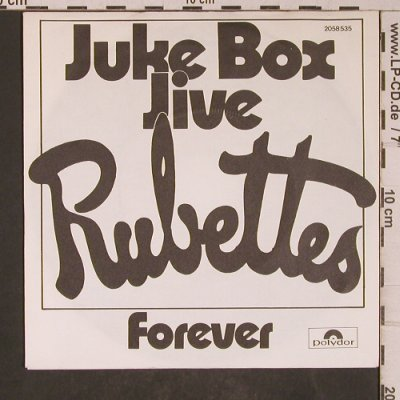 Rubettes: Juke Box Jive / Forever, Polydor(2058 535), D, 1974 - 7inch - T5307 - 3,00 Euro