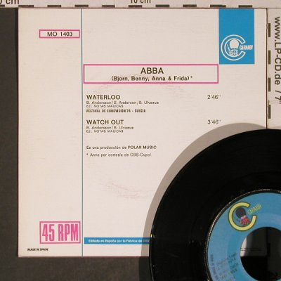 ABBA: Waterloo / Watch out, Carnaby(MO 1403), E, 1974 - 7inch - T5311 - 5,00 Euro