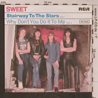 Sweet: Stairway To The Stars, RCA(PB 5046), D, 1977 - 7inch - T5327 - 4,00 Euro